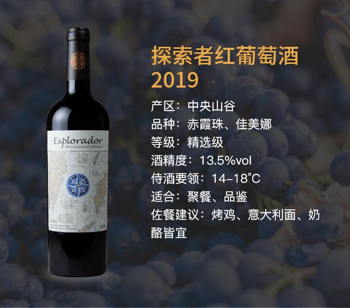 探索者红葡萄酒2019